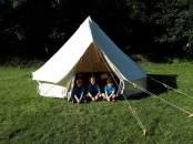 Enjoying the camp